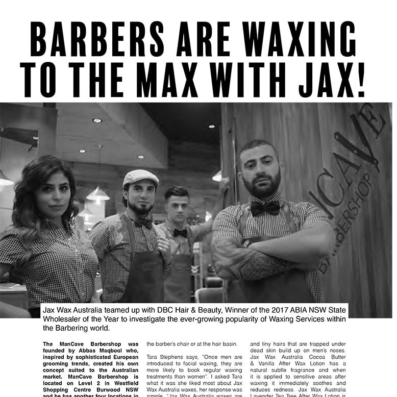 BarberShop waxing