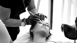 Eye brow waxing Jax Wax